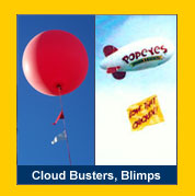 Cloud Busters and Blimps